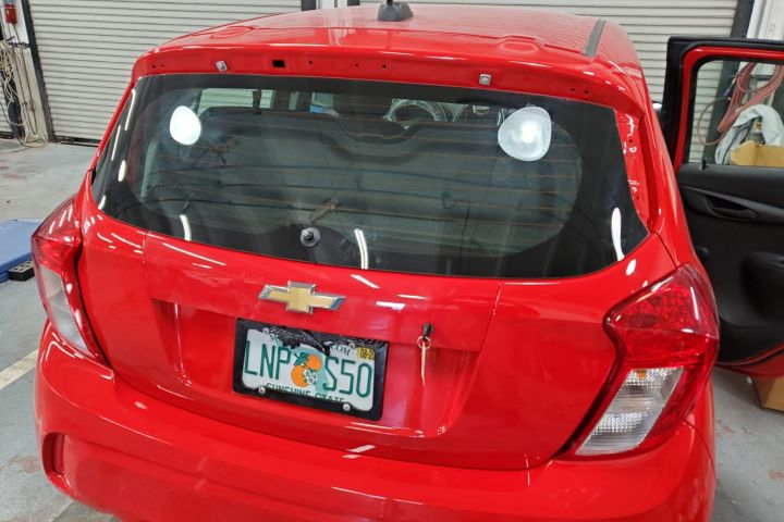 2020 chevy spark remove and install backglass - Miami